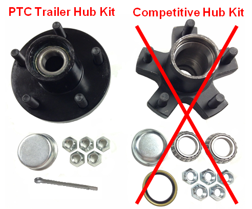 Trailer Hub Kit Photo